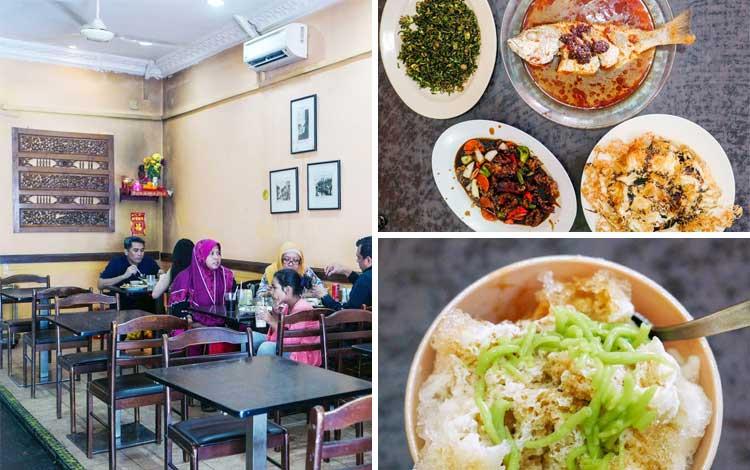 Tempat makan enak dan murah di Malaysia - Restoran Muar Home-Cooked Cuisine