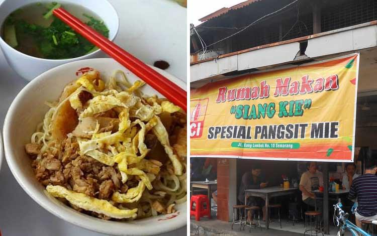 Tempat Wisata Kuliner di Semarang - Mie Sang Kie