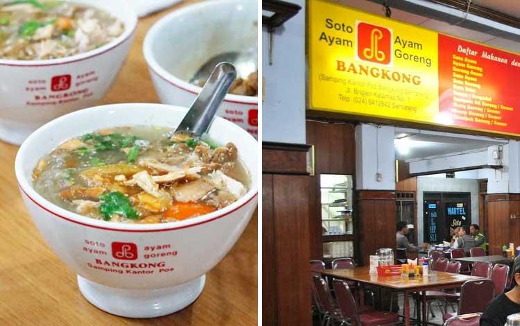 Tempat wisata kuliner di Semarang - Soto Bangkong