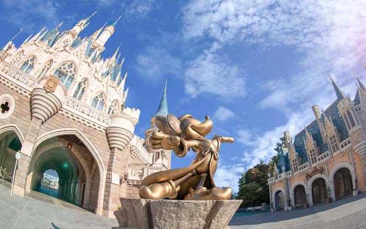 Tempat wisata terbaik di Jepang - Tokyo Disneyland