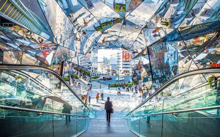 Tempat wisata terbaik di Jepang - Tokyu Plaza Omotesando Harajuku