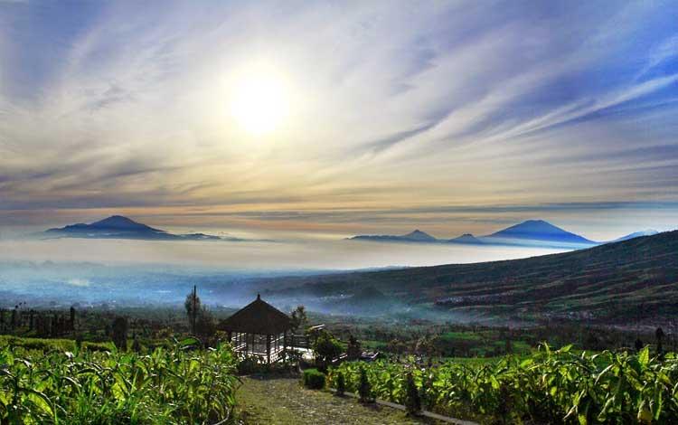 Wisata Alam Posong, Temanggung, Jawa Tengah