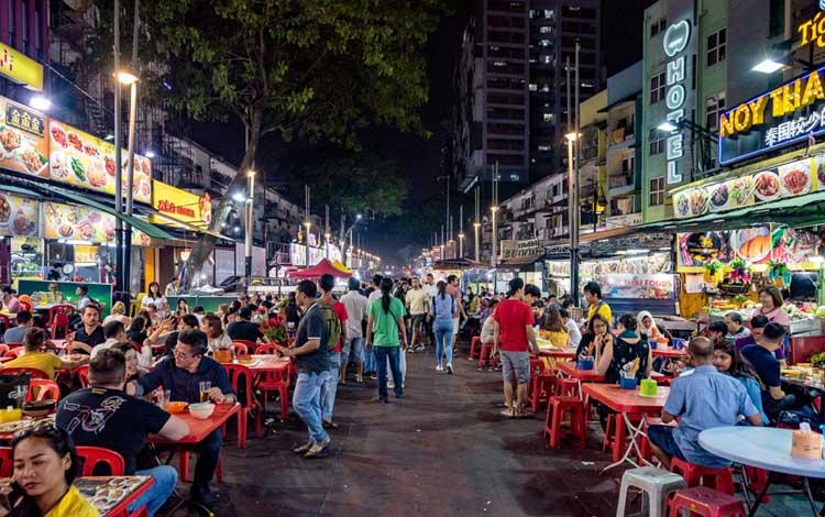 Tempat makan enak dan murah di Malaysia - Jalan Alor