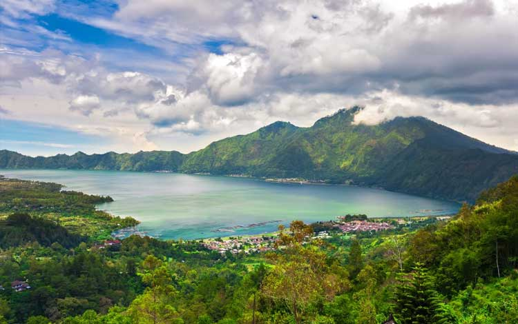 Danau terindah di Indonesia - Danau Batur, Bali