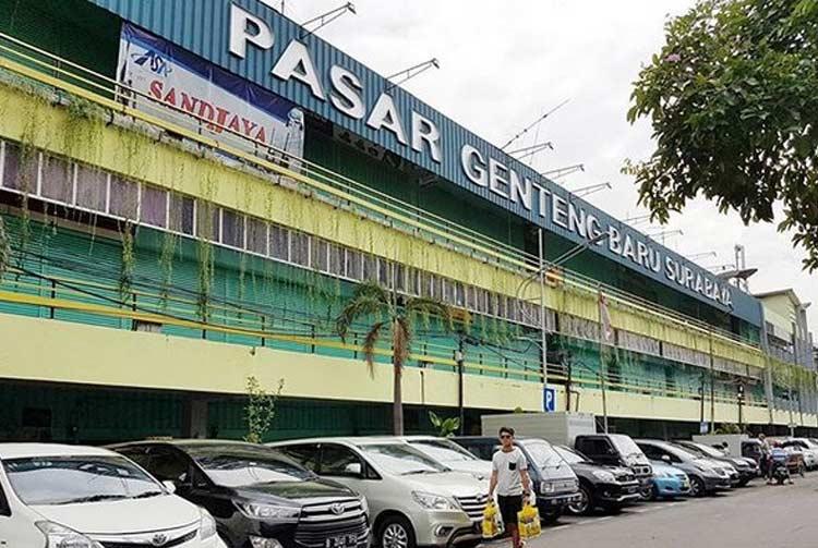 Tempat beli oleh-oleh khas Surabaya - Pasar Genteng Baru