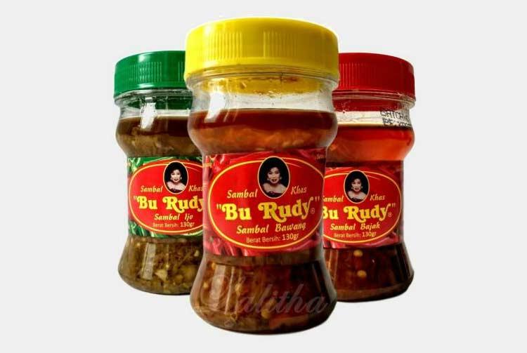 Oleh-oleh khas Surabaya - Sambal Bu Rudy Surabaya