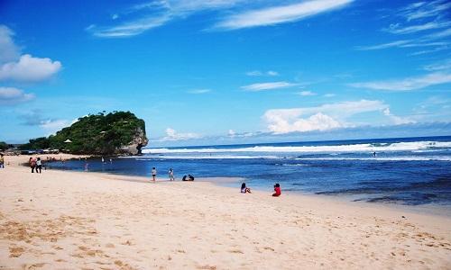 Pantai Terindah di Jogja - Pantai Indrayanti