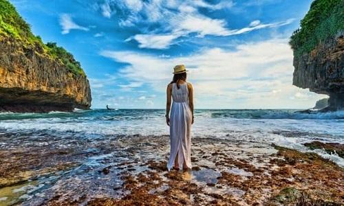 Pantai Terindah di Jogja - Pantai Greweng