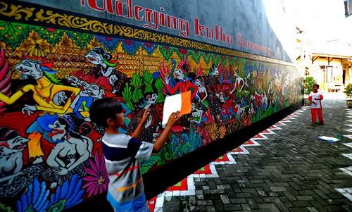 Tempat wisata Semarang - Kampung Batik