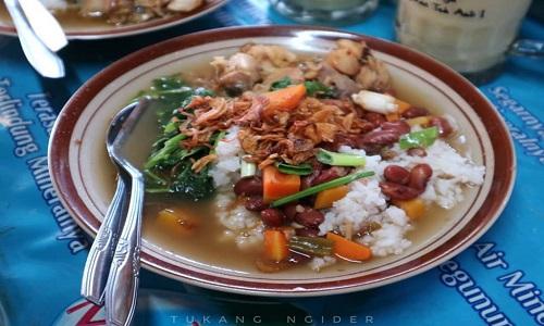 Tempat Wisata Kuliner Magelang - Sop Senerek Bu Atmo