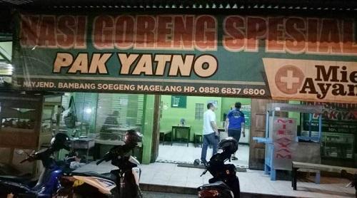 Tempat Wisata Kuliner Magelang - Nasi Goreng Pak Yatno