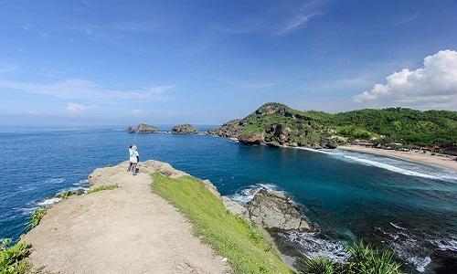 Pantai Terindah di Jogja - Pantai Siung