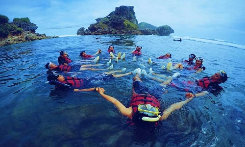 Pantai Terindah di Jogja - Pantai Ngalambor
