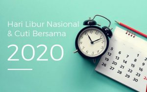 Hari libur dan cuti bersama 2020