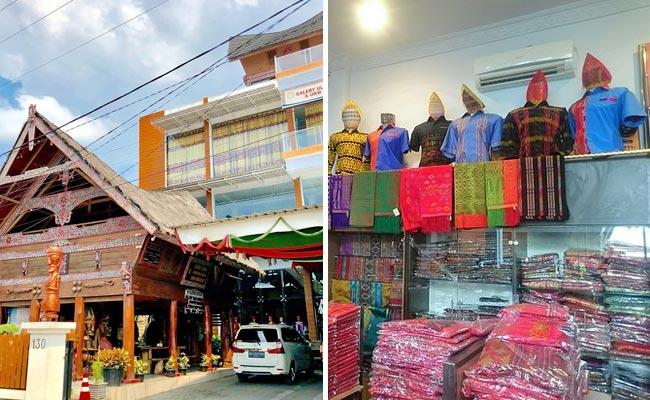 Toko oleh-oleh khas Medan