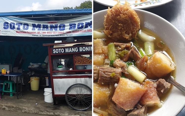 Tempat makan enak dan murah di Bogor