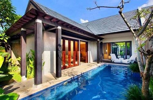 Penginapan berupa villa